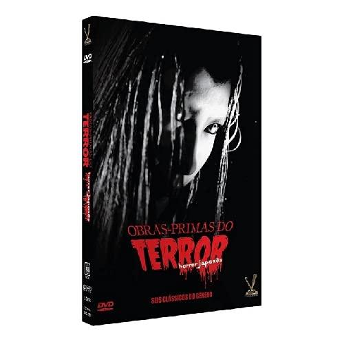 Obras primas do Terror Horror Japonês Edição Limitada 3 DVDs