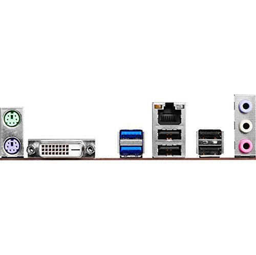 ASRock 90-MXB0S0-A0UAYZ Intel H110 LGA1151 Mainboard