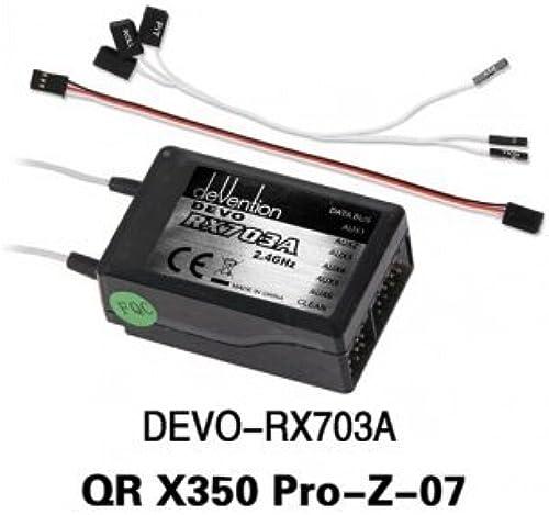 Tu satisfacción es nuestro objetivo Souked Walkera Walkera Walkera QR alta calidad X350 Pro RC Quadcopter Repuestos Receptor DEVO - RX703A  ventas en línea de venta