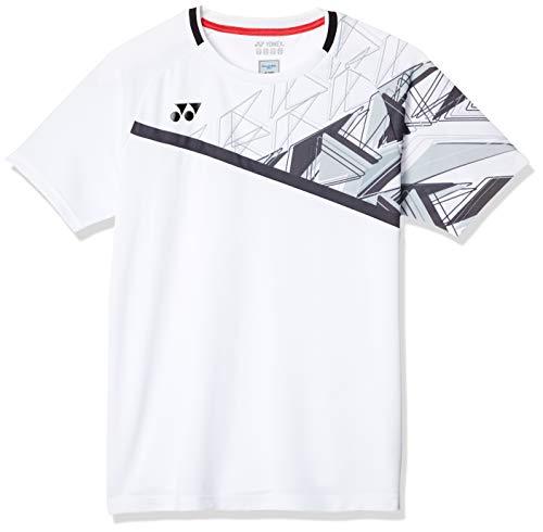 [ヨネックス] 半袖シャツ MENゲームシャツ (フィットスタイル) メンズ ホワイト (011) 日本 SS (日本サイズXS相当)