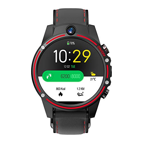 Kospet Vision 4G Dual Kamera Smart Watch Phone Smart Sportuhr 1,6 Zoll IPS Display 320 x 320 Pixel Lebensdauer Wasserdicht Weiblich Männlich Smart Armband