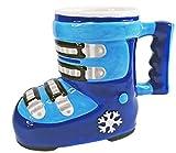 KDO-JOUETS.COM Mug Chaussure de Ski - Bleu