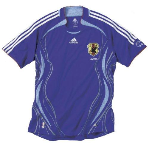 adidas Japan Fußballtrikot,Größe L, blau