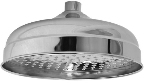 New Newport Brass 2092 12 Single Function Solid Brass Showerhead, Polished Gold