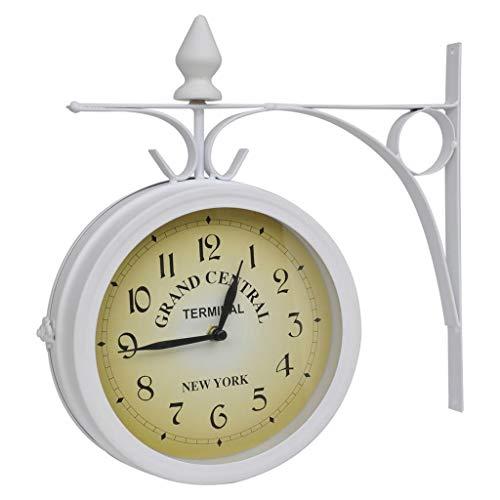 vidaXL Reloj de Pared de Dos Caras del diseño clásico