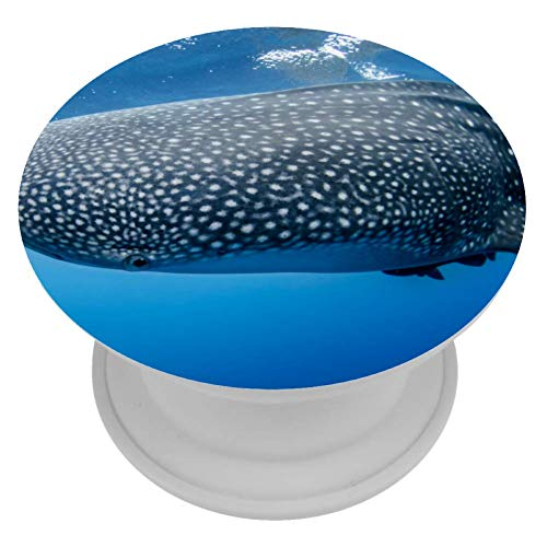 TIZORAX Soporte para teléfono Soporte y Agarre expansivos para Tiburones Ballena de Aguas Profundas para teléfonos Inteligentes y tabletas