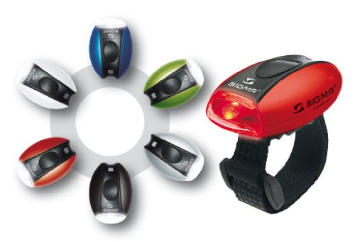 Sigma Micro LED Signalleuchte, rotes Licht, silber