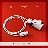 Cute Animal Bite Cable Protector - Buddies Cord Chompers for iPhone Lightning Cable Charging Cords Cell Phone (Snoopy)