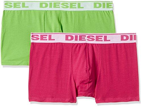 DIESEL Herren UMBX-SHAWN Boxershorts (2er Pack), Mehrfarbig (MULTICOLOR 4), L (Herstellergröße: L)