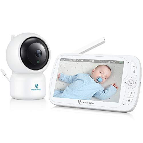 Beauty-Design HeimVision Monitor de bebe Soothe 3 1080P, monitor de video bebe con cámara y audio