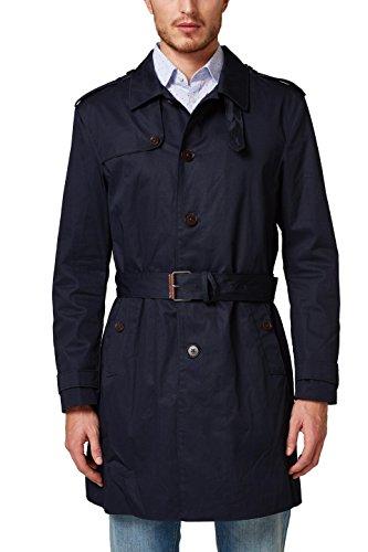 ESPRIT Collection Herren 028EO2G003 Mantel, Blau (Navy 400), X-Large (Herstellergröße: 52)