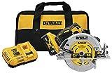 DEWALT 20V MAX XR Circular Saw, 7-1/4-Inch, Brushless, Power Detect Tool Technology (DCG418X2)