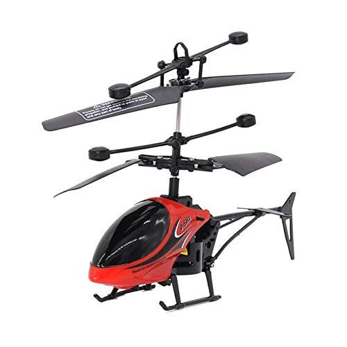 OndersteuntHelp Mini USB Afstandsbediening Helikopter Inductie Vliegtuig RC Drone met Licht