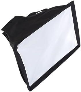 Generic Universal Cloth Flash Bounce Diffuser for Canon Nikon Sony (White_15x17 cm)