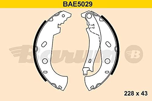 BARUM bAE5029 jeu de mâchoires de frein