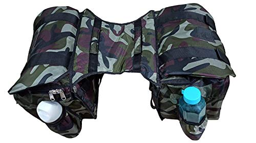 SaharaSeats Two in One Travelling Saddle Bag for Royal Enfield All Models,Universal Product (Camouflage)