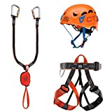 Climbing Technology Kit FERRATA Evolution Galaxy Set ferrata, Multicolore, Taglia Unicaca