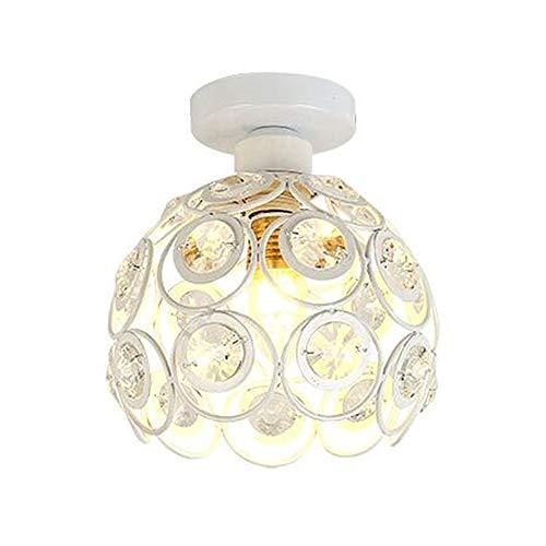 KinderALL Tulipas De Lamparas Lampara Techo Cristales Colgantes Accesorio de luz Colgante de Techo Cortinas de lámpara techos Dormitorio White