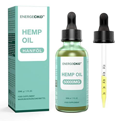 He-mp Natural Oil - Advanced Pure Concentration Formula - Non-GMO - Vegan Friendly - 50000MG/30ML