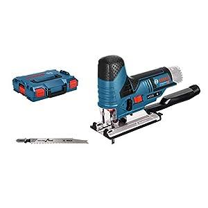 Bosch Professional GST 12V-70 - Sierra de calar a batería (12V, 1500 – 2800 cpm, profundidad de corte 70 mm, sin batería, en L-BOXX)
