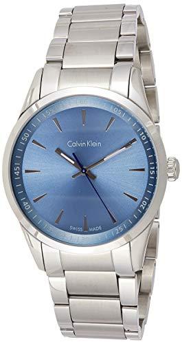 Calvin Klein Reloj Analógico para Hombre de Cuarzo con Correa en Acero Inoxidable K5A3114X
