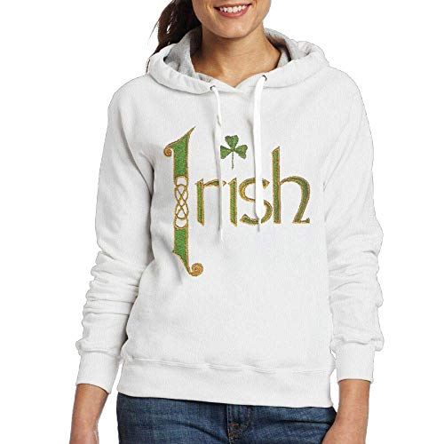 RtOnbra Hoodie for Women Ireland with Clover Cotton Hooded Pullover Sweatshirt