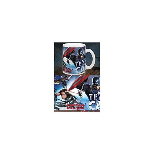 Mug Captain America : Civil War - Team Cap - Marvel