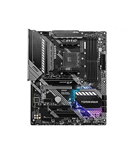 MSI MAG B550 TOMAHAWK scheda madre ATX, AM4, DDR4, Dual M.2, LAN, USB 3.2 Gen2, Front Type-C, Mystic Light RGB, HDMI, DisplayPort, AMD RYZEN 3000 di terza generazione