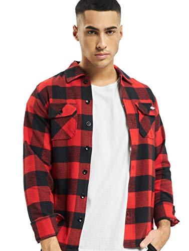 Dickies New Sacramento Shirt Männer Langarmhemd rot XL 100% Baumwolle Basics, Casual Wear, Streetwear