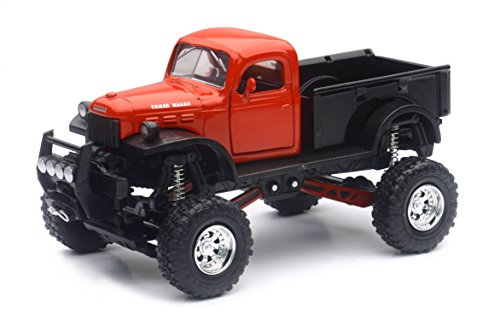 New Ray 54516 Dodge Power Wagon Die Cast with Suspension 1/32° Red