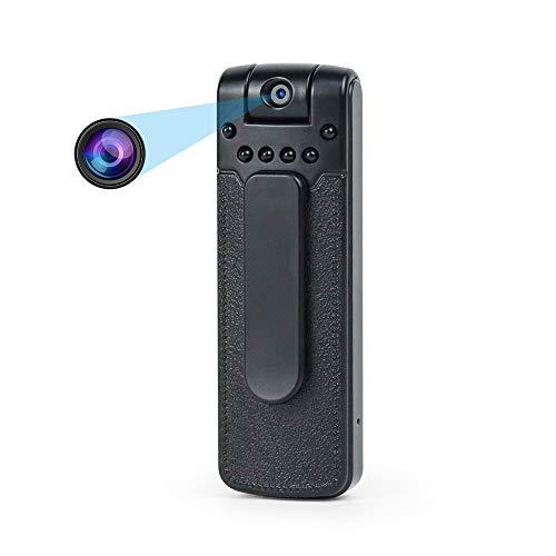 Dybory Mini Cámara Espía, 1080P HD Cámara Inalámbrica Portátil DIY Nanny CAM para Monitor De Seguridad para El Hogar Grabador De Video 180 Ángulo