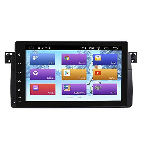 ZLTOOPAI Android 9.0 Autoradio Stereo GPS Navigation Mediaplayer für BMW E46 Rover 75 MG ZT Unterstützung Bildschirm Spiegel Voller RCA Ausgang SWC