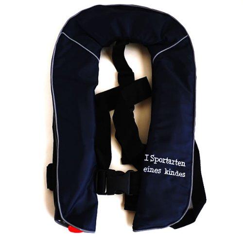 I sportarten einne kindesアイシュポルテン 子供用 ベスト 自動膨張式 -体重80kg対応 ライフジャケット子...