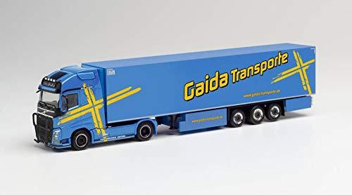 herpa 312752 Volvo FH Gl. XL - Funda de sillín para nevera Gaida Transporte