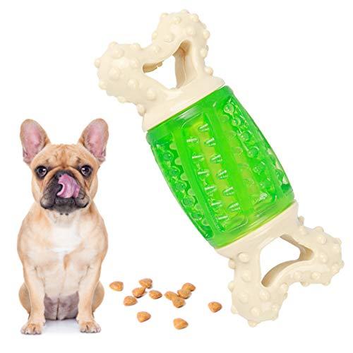 ZOYLINK Hundleksak Benformad Kreativ Rolig Interaktiv Leksak Tugga Söt Valp Pipande Leksak Tugga Gummispel Träningsleksak