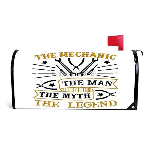 happygoluck1y Vatertags-Zitat und Spruch Briefkasten-Abdeckung magnetisch Vatertag Briefkasten Abdeckung Haus Garten Dekoration Briefkasten Wrap Post Briefkasten Abdeckung 45,7 x 53,3 cm