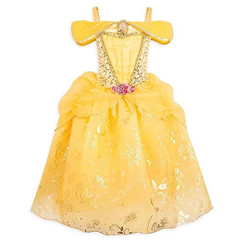 Disney Store Belle - Disfraz para nios, diseo de belleza y bestia, 4 aos