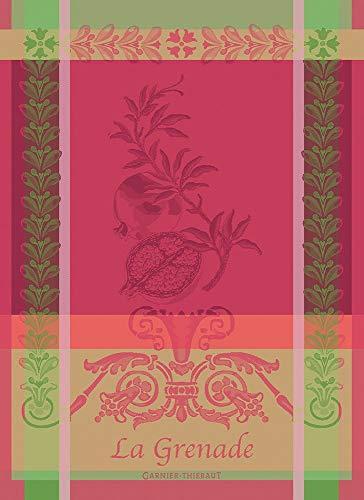 Garnier Thiebaut - Geschirrtuch - Küchentuch - Trockentuch - Grenade Rose - Baumwolle - 56 x 77 cm