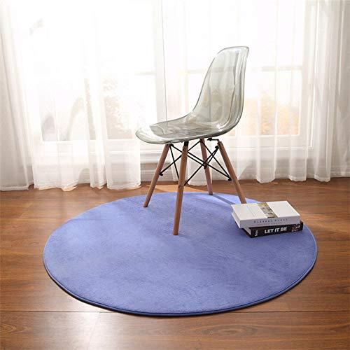 Rond tapijt voor kinderstoelen, yogamatten, voetmat, groot tapijt, woonkamer