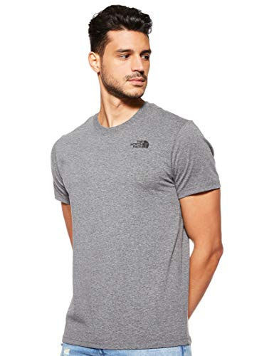 The North Face Red Box T-Shirts et Tops de Sport-Men (Sportswear) Homme, TNF Mid Grey Heather (STD), FR (Taille Fabricant : XS)