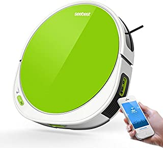 Seebest Robot Vacuum Cleaner with Gyroscope Navigation and Wet Mopping Robot Aspirador V Shape Rolling Brush F780