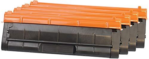 TONER EXPERTE® SP C250E 4 Toner kompatibel für Ricoh SP C240DN C250DN C250DNw C250SF | 407543 2000 Seiten 407544 407545 407546 1600 Seiten