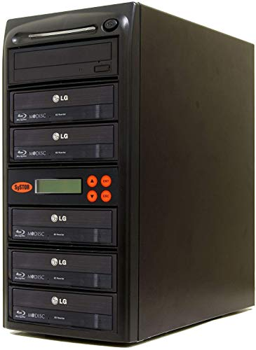 Systor 1-5 Blu-ray 16X BD M-disc CD/DVD Kopierstation