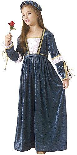 Rubie's - Disfraz de Julieta para niñas, talla 3-4 años (