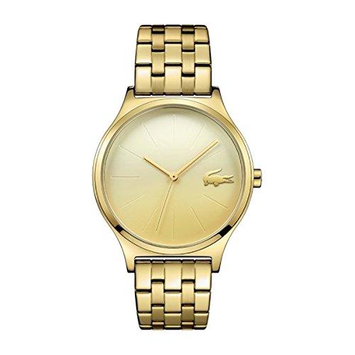 Lacoste - Reloj Análogo clásico para Mujer de Cuarzo con Correa en Acero Inoxidable 2000995