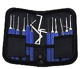 Schlosser-Tools Dietriche Set 17pcs Professionelle Original-Multi Pick-Lockpicking für Anfänger und Pro Schlosser