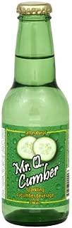 Mr Q Cumber Cucumber Soda 7.0 OZ (case of 24) by Mr Q Cumber