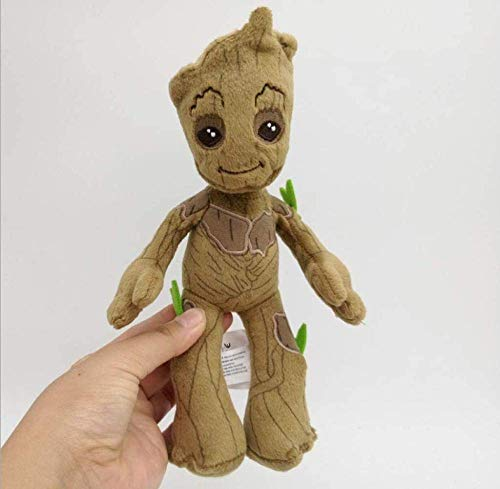EREL Bambola del Giocattolo della Peluche 22 cm Galaxy Guardian Groot Little Tree Bambola Bambola Decorazione Dedu