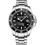 Stuhrling Original Mens Dive Watch - Pro Sport Diver with Screw Down Crown and Water Resistant to 330 Ft. - Analog Dial, Quartz Movement - Depthmaster Watches for Men Collection