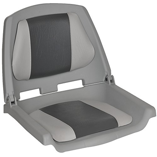 Oceansouth Fisherman Boat Seats (Grey/Charcoal)